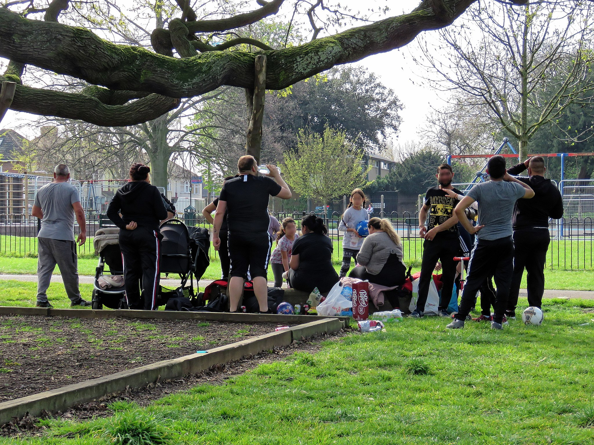 Community group takes exercise in Tottenham green space